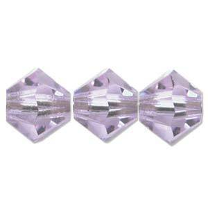 8mm Swarovski Crystal Bicone, Alexandrite