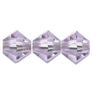 6mm Swarovski Crystal Bicone, Alexandrite
