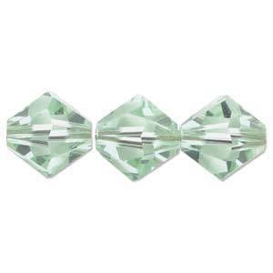 4mm Swarovski Crystal Bicone, Chrysolite
