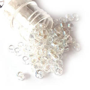 Matsuno size 6 round: 250 - Crystal Clear AB
