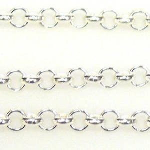 Belcher Chain, medium - Silver