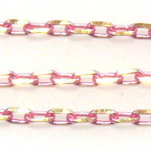 Coloured Chain: Pink (3mm)