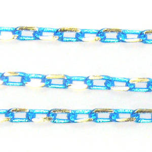 Coloured Chain: Aqua (3mm)