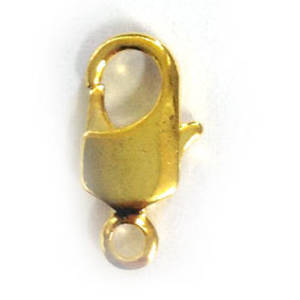 Lobster Clasp, large - gold