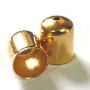 Plain Cone, 6mm - Gold