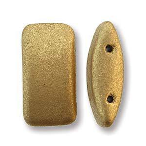 Glass Carrier Bead: Pale Gold