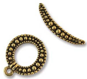 NEW! Toggle: Dotty curve - gold