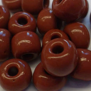 Chinese #6, Reddy brown opaque