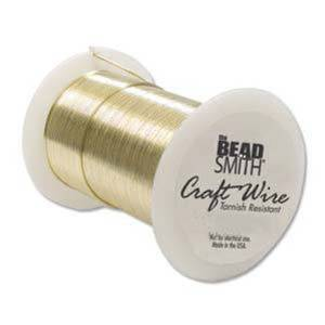 NEW! Craft Wire, Gold Colour: 26 gauge