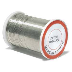 Craft Wire, Silver Colour: 34 gauge