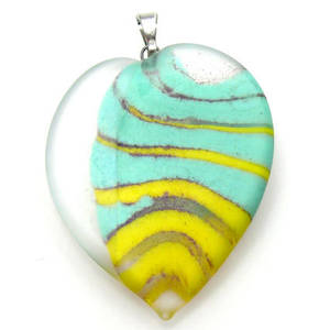 Czech Lampwork, pendant ONE ONLY