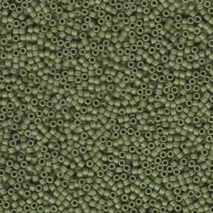 Delica, colour 391 - Matte Opaque Olive