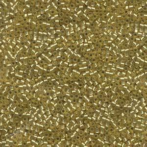 Delica, colour 687 - Peridot, semi-matte, silver lined