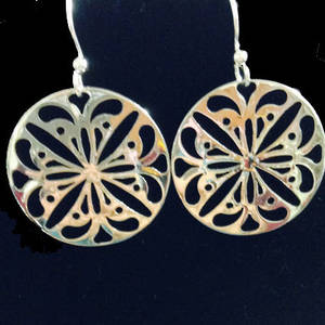 EARRINGS: Filigree Medallions