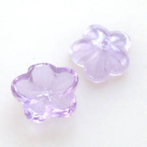 Large Cup Flower, 14mm - Lilac