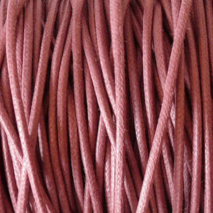 1mm round Japanese Filament Cord, Pink