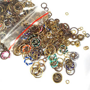 JUMPRING MIXED PACK 4: Golds/Copper/Brass plus a few coloured