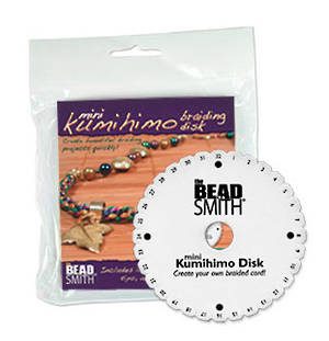 Kumihino Disc, mini disc (4.25 inches), with instructions.