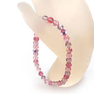 KITSET: Swarovski Crystal Bracelet - Pinks