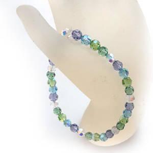 KITSET: Swarovski Crystal Bracelet - Spring Rain