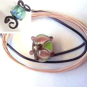 Wire Ring Kit, Purple and Green Rhondelle
