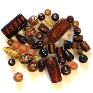 Indian Lampwork Mix  2: Ambers