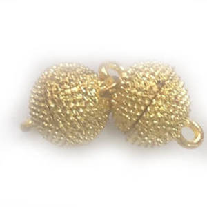 Magnetic Clasp, raised dot pattern