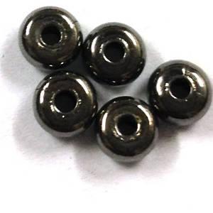 Metal Spacer: 4mm plain washer - gunmetal