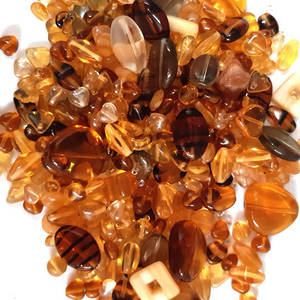 NEW! Pressed Bead Mix - Tortie