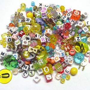 NEW! Acrylic MIX: Alphabet Soup
