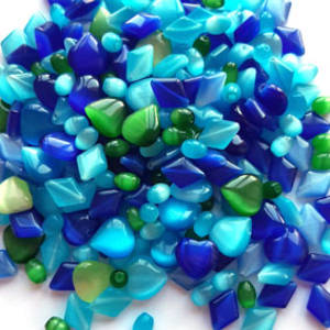 NEW! Fibre Optic MIX: Blues and Greens