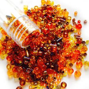 Seed Bead Mix, 15gm - AMBERLEA
