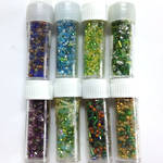 Lucky Dip Seed Bead Mix - 8  tubes