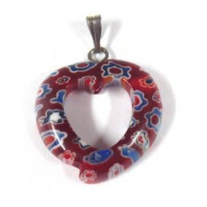 20mm Mosaic Heart: Reds