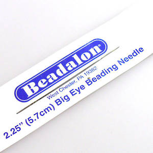 Beadalon Big Eye Needle 5.5cm