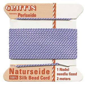 Griffin Silk Cord - Lilac - Size 0 (0.3mm)