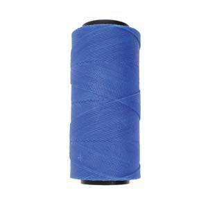 Knot-It Brazilian Waxed Polyester Cord: Blue - 144m roll