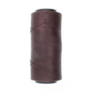 BACK! Knot-It Brazilian Waxed Polyester Cord: Dark Chocolate - 144m roll