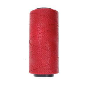 NEW! Knot-It Brazilian Waxed Polyester Cord: Dark Red - per meter