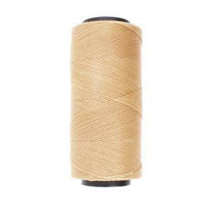Knot-It Brazilian Waxed Polyester Cord: Natural - 144m roll