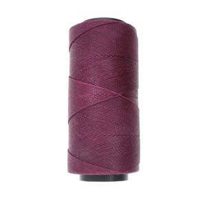 NEW! Knot-It Brazilian Waxed Polyester Cord: Plum - per meter