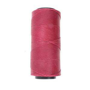 NEW! Knot-It Brazilian Waxed Polyester Cord: Raspberry - per meter
