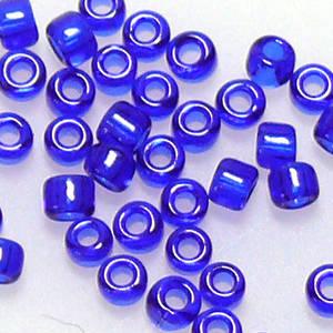 Matsuno size 11 round: 151 - Cobalt, transluscent