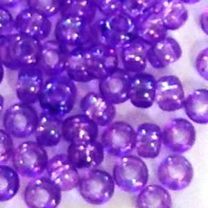 Miyuki size 11 round: 292 - Violet Shimme,r transluscent