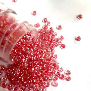 Matsuno size 11 round: 355 - Pink, transluscent