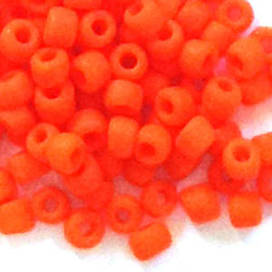Matsuno size 11 round: F406 - Frosted Orange