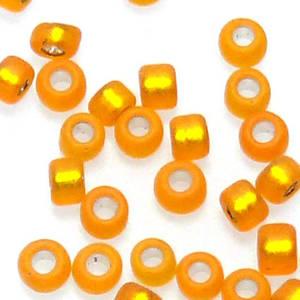 Matsuno size 11 round: F8 - Frosted Light Orange