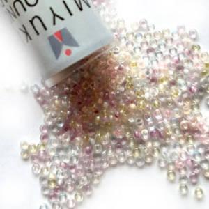 NEW! Miyuki size 15 round: MIX 08 - Light Pastels