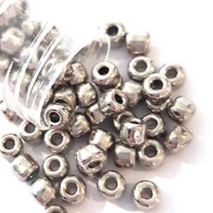 Matsuno size 6 round: 464 - Metallic Pewter