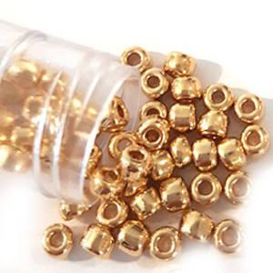 Matsuno size 6 round: 465 - Metallic Gold